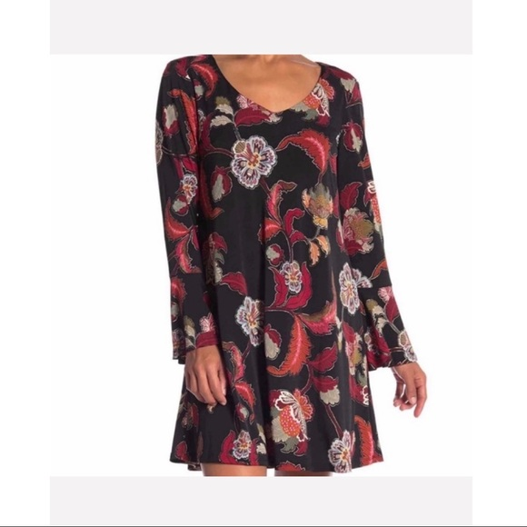 Great Fall Dress Size 10 Connected Apparel